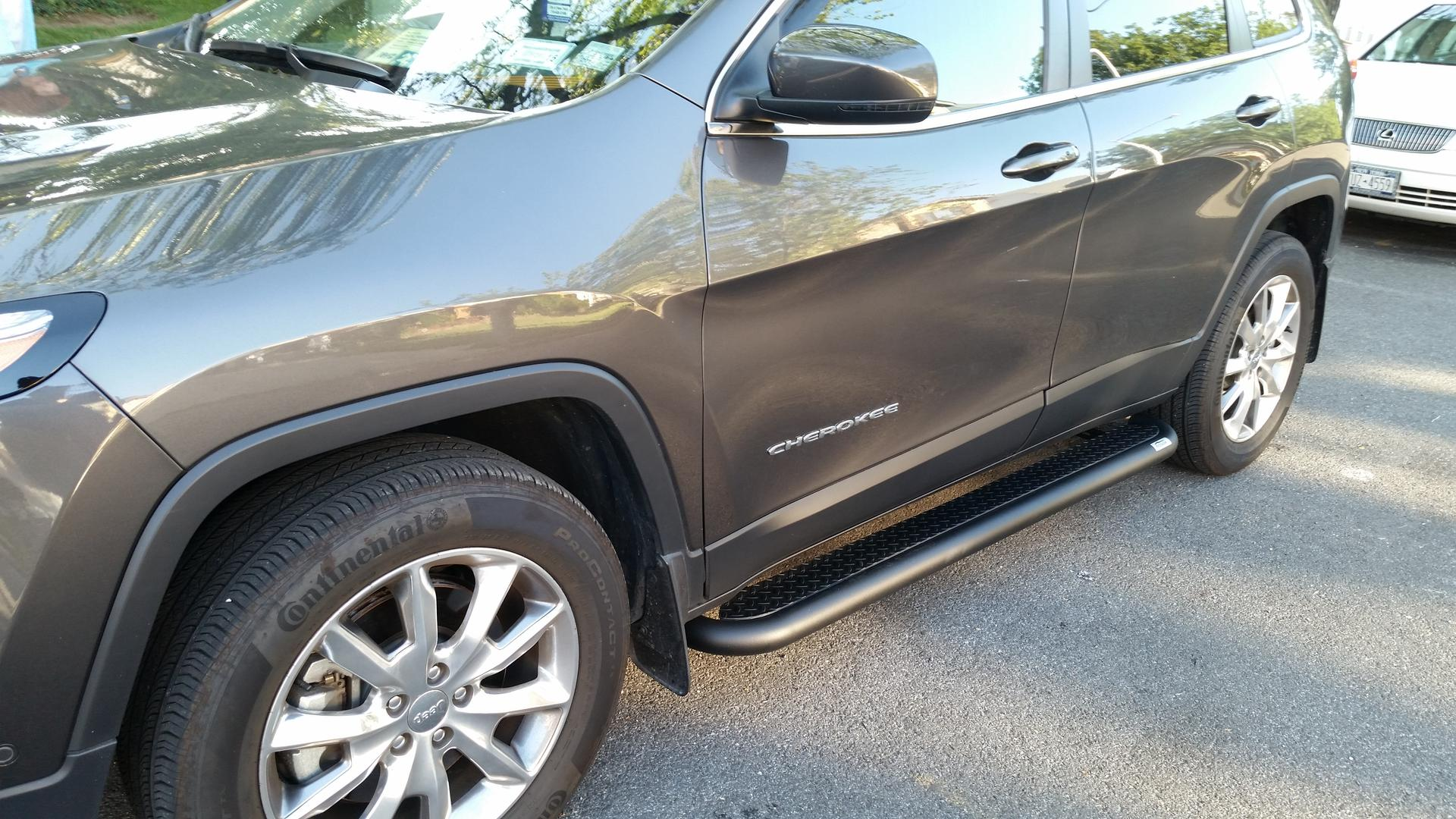 running boards now available - 2014+ jeep cherokee forums