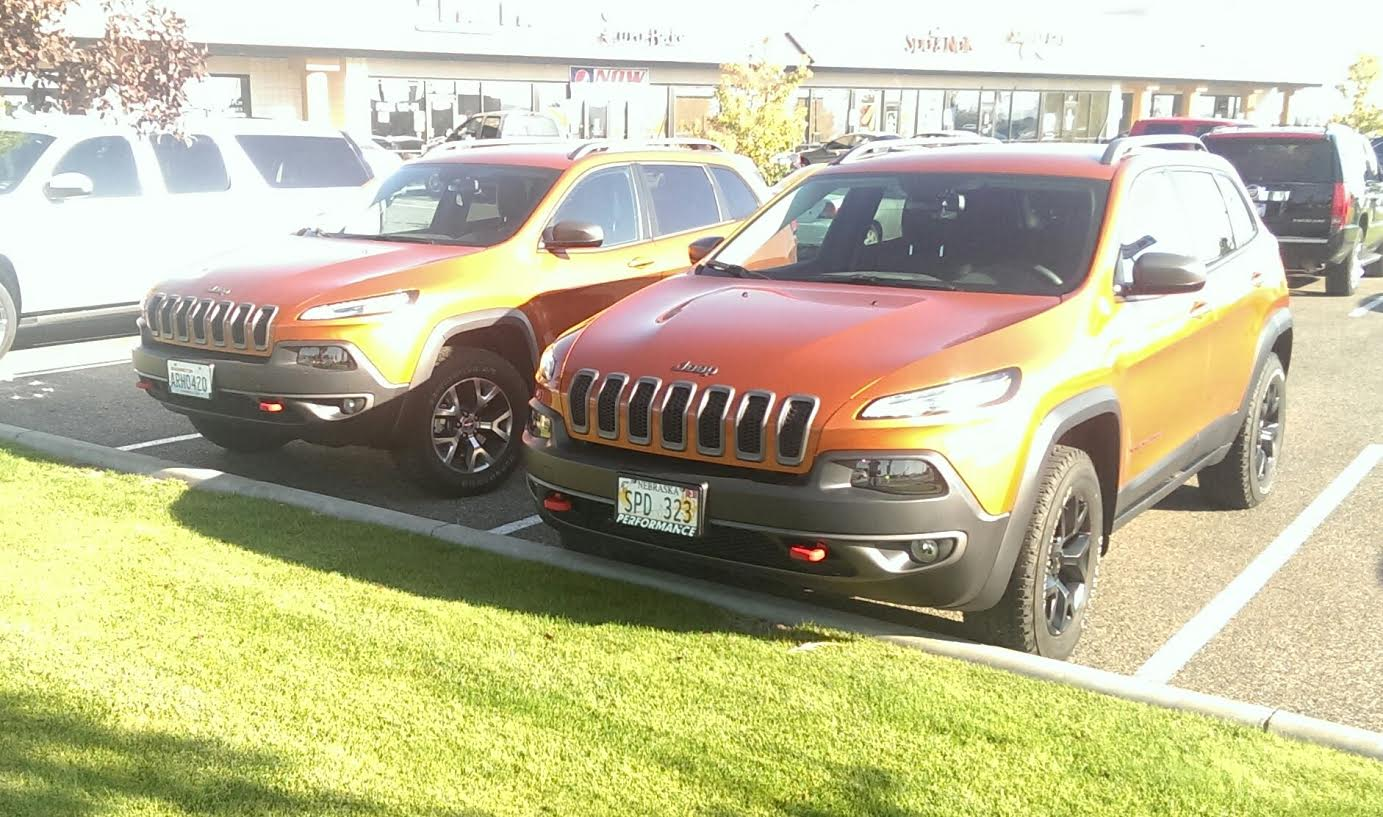 jeep parking only! - 2014+ jeep cherokee forums