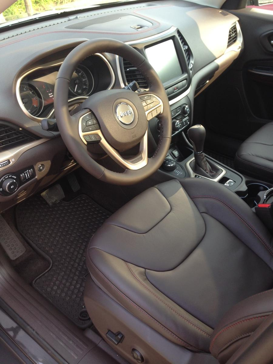 2014 Grand Canyon Brown Leather Interior 2014 Jeep Cherokee Forums