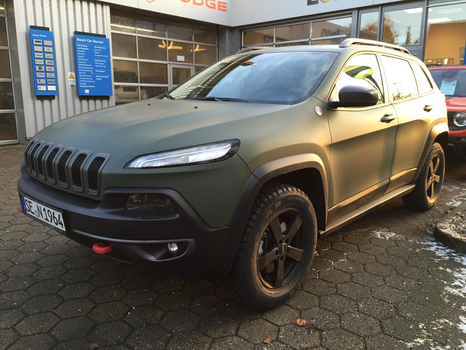 trailhawk mod - chrome grill - 2014+ jeep cherokee forums