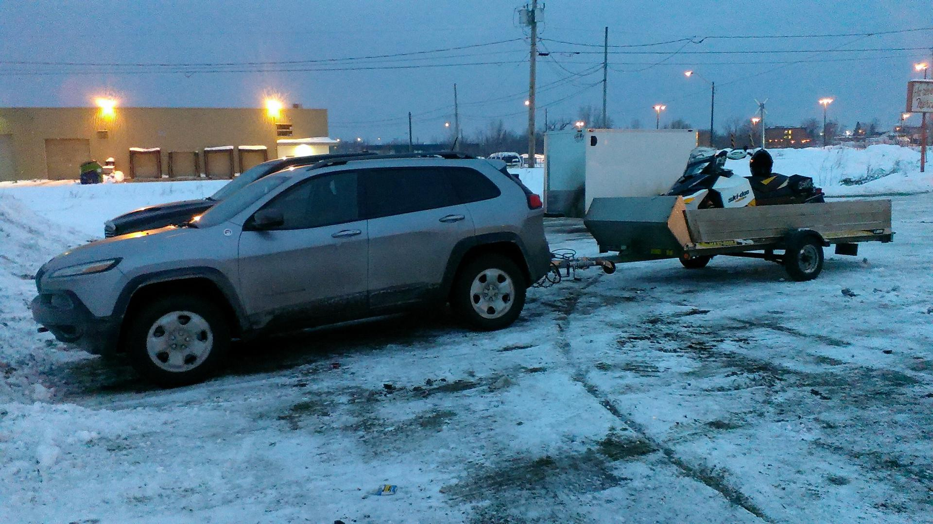 Show What You Tow And Experiences 2014 Jeep Cherokee Forums