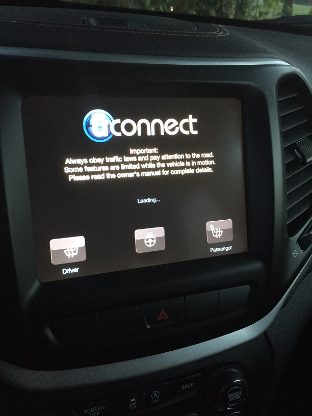 Touch Screen Won T Boot Past Uconnect 2014 Jeep Cherokee Forums