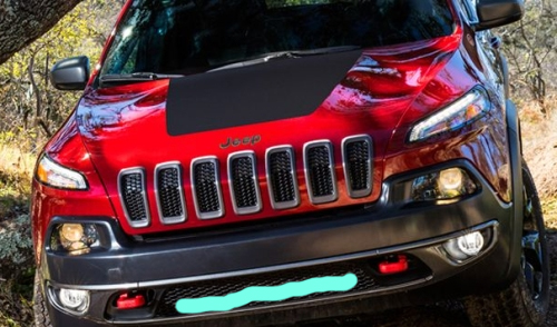 Hidden light bar in grille 2014 jeep cherokee forums attached images mozeypictures Gallery