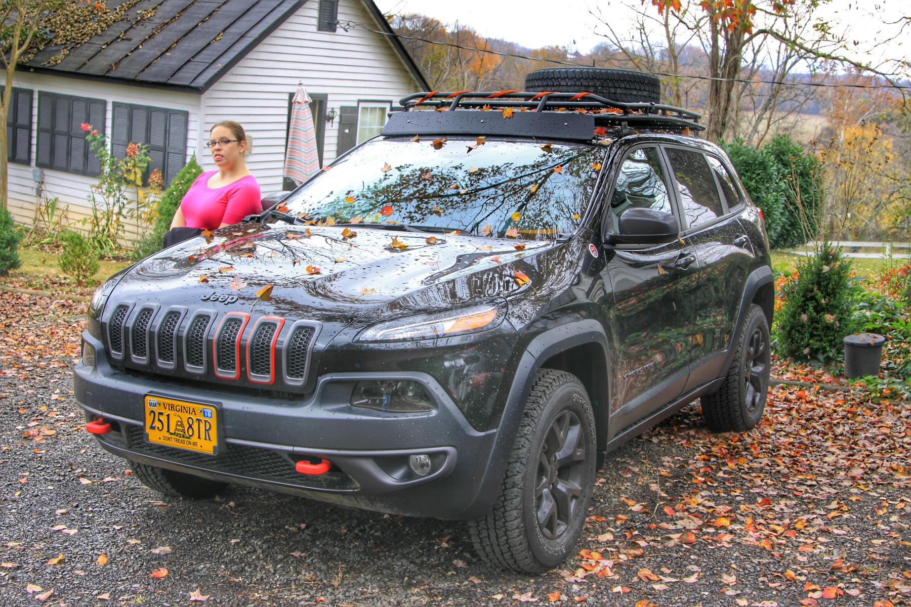 roof rack - 2014+ jeep cherokee forums