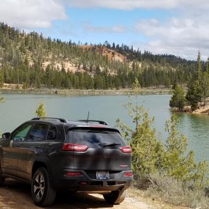 Trailhawk at Tropic Reservoir