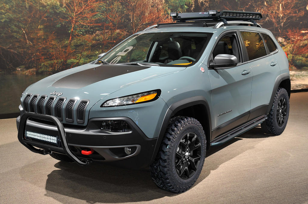 Test With Black Wheels And Mud Tires 2014 Jeep Cherokee Forums